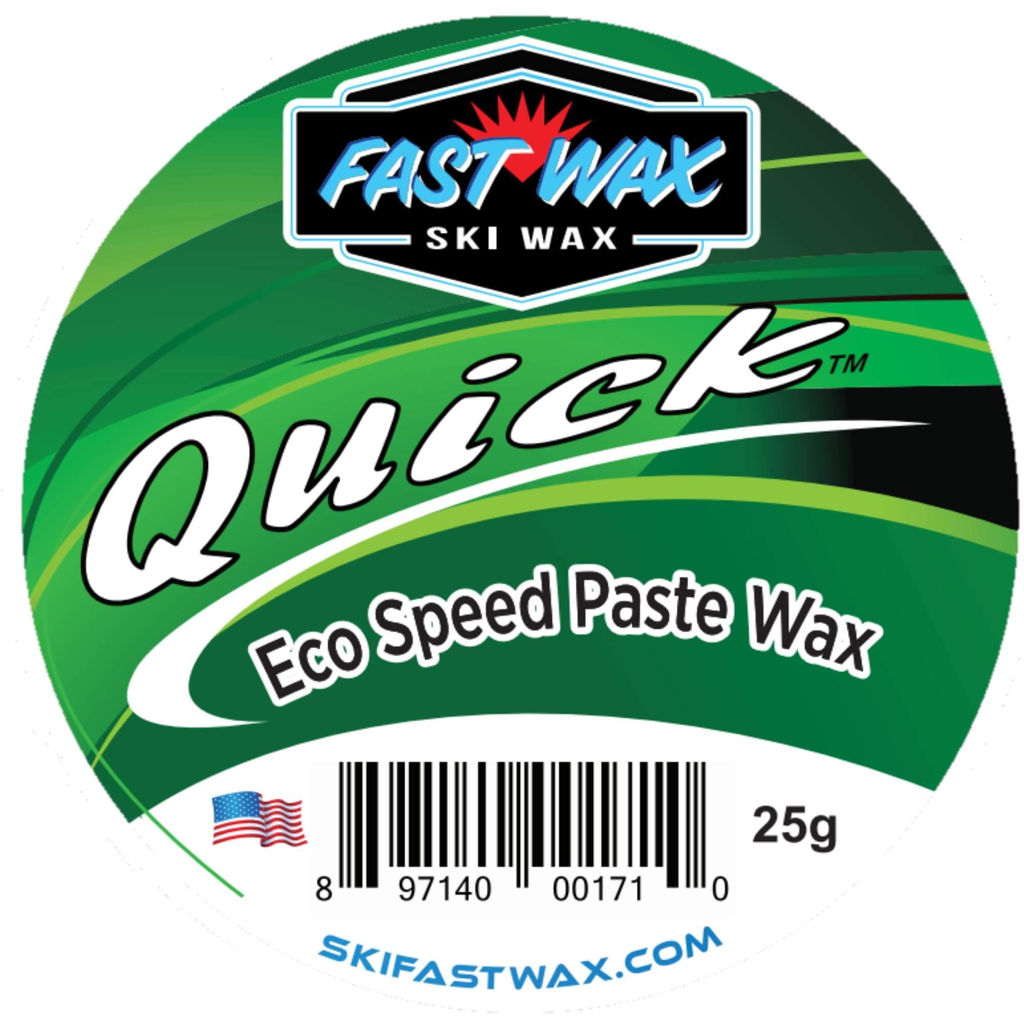 Box of 5 Green Fast Wax DataWax Wipes Ski